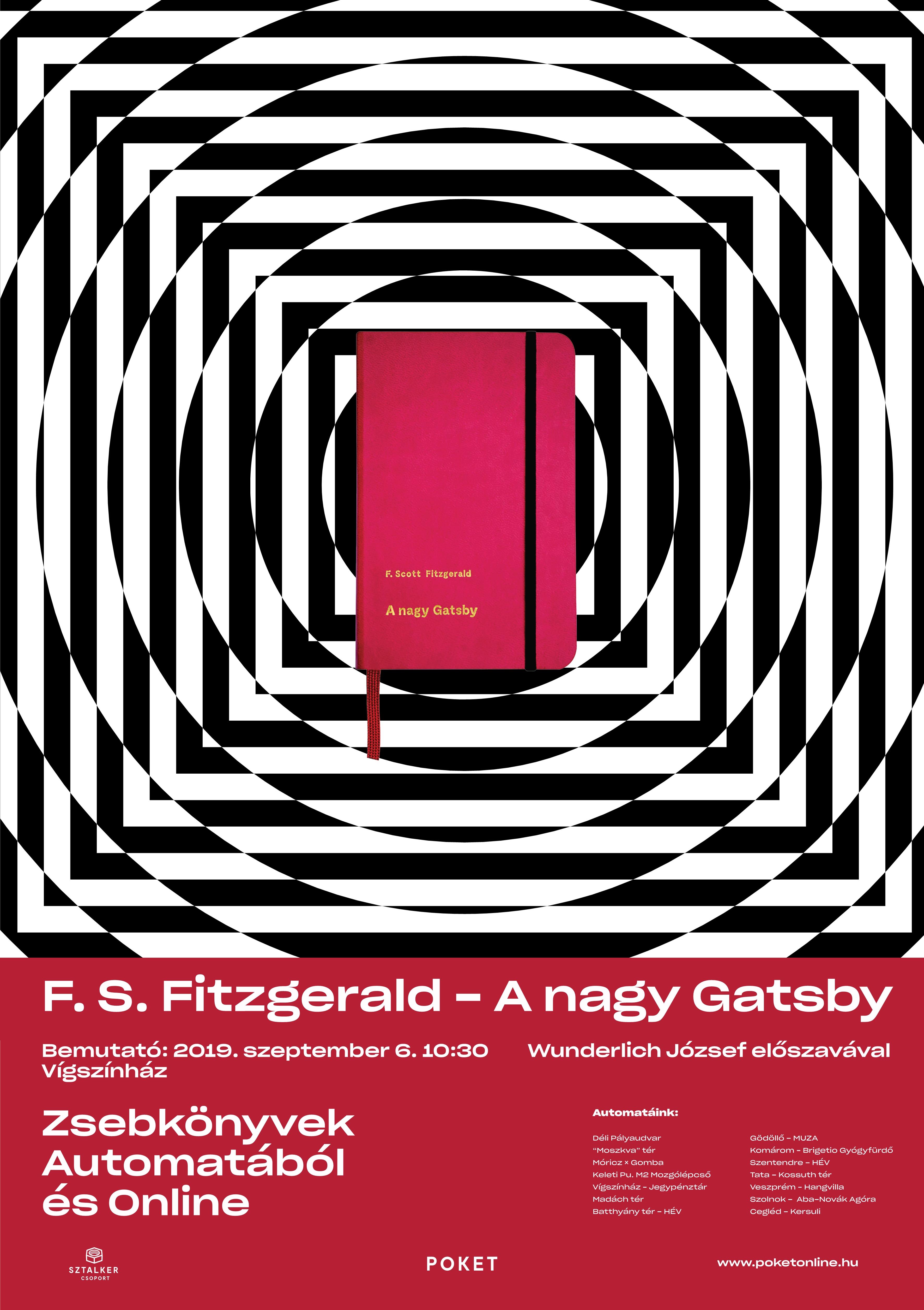 21. F. S. Fitzgerald - A nagy Gatsby - Premier előtt!